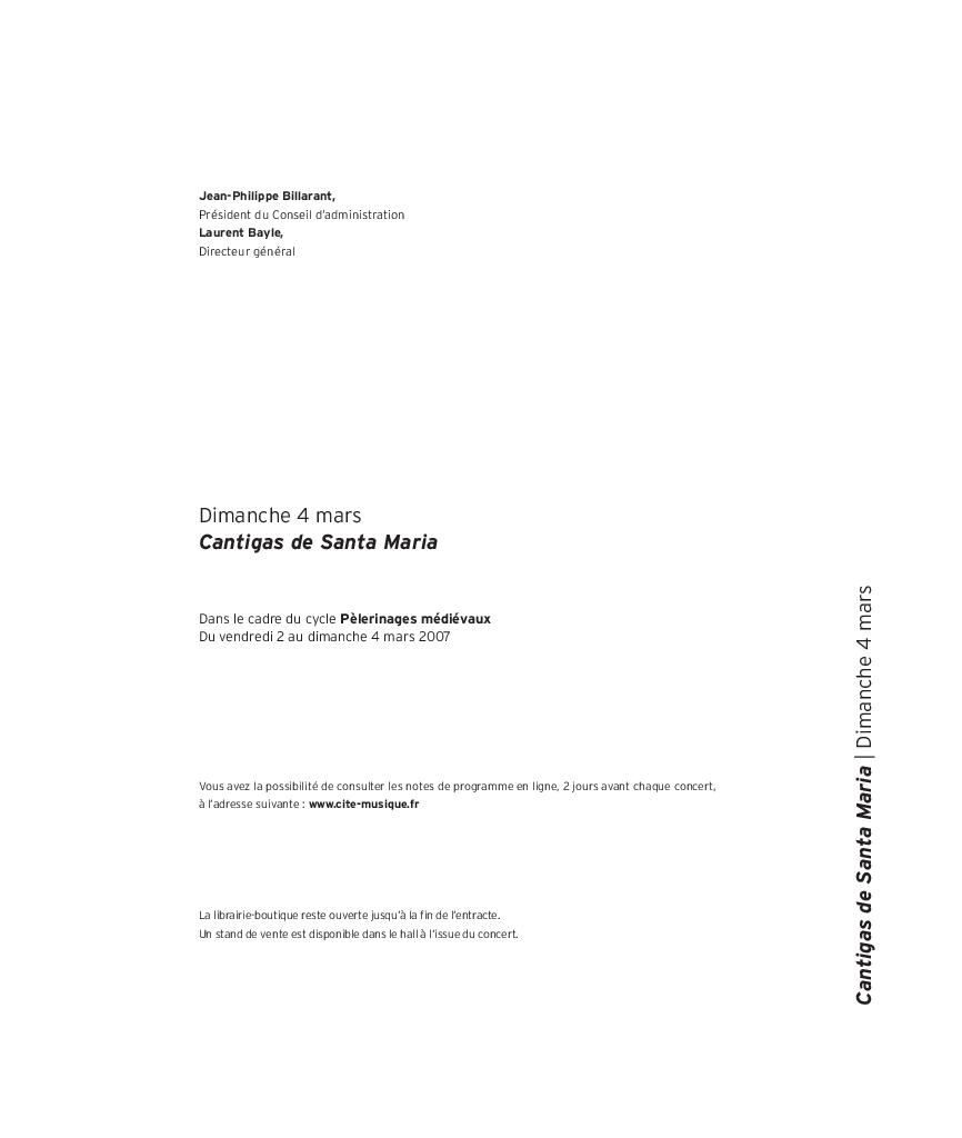Pélerinages médiévaux - Cantigas de Santa Maria |