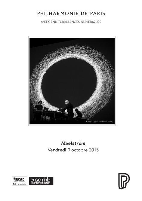 Week-end Turbulences numériques. Maelström |
