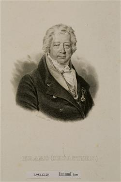 Portrait de Sébastien Erard (1752-1831)   Hardivillier, Charles-Achille
