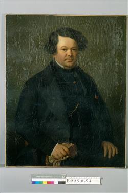 Portrait d'Auguste-Mathieu Panseron (1796-1859)   Ecole française