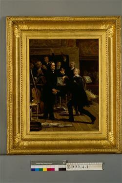 Hommage de Paganini à Berlioz lors du concert du 16 décembre 1838   Yvon, Adolphe