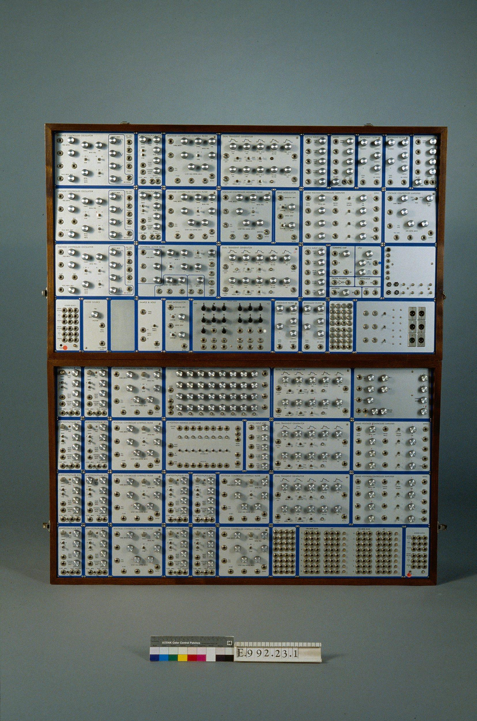 "Synthétiseur ""modular system"" E-MU | E-mu"