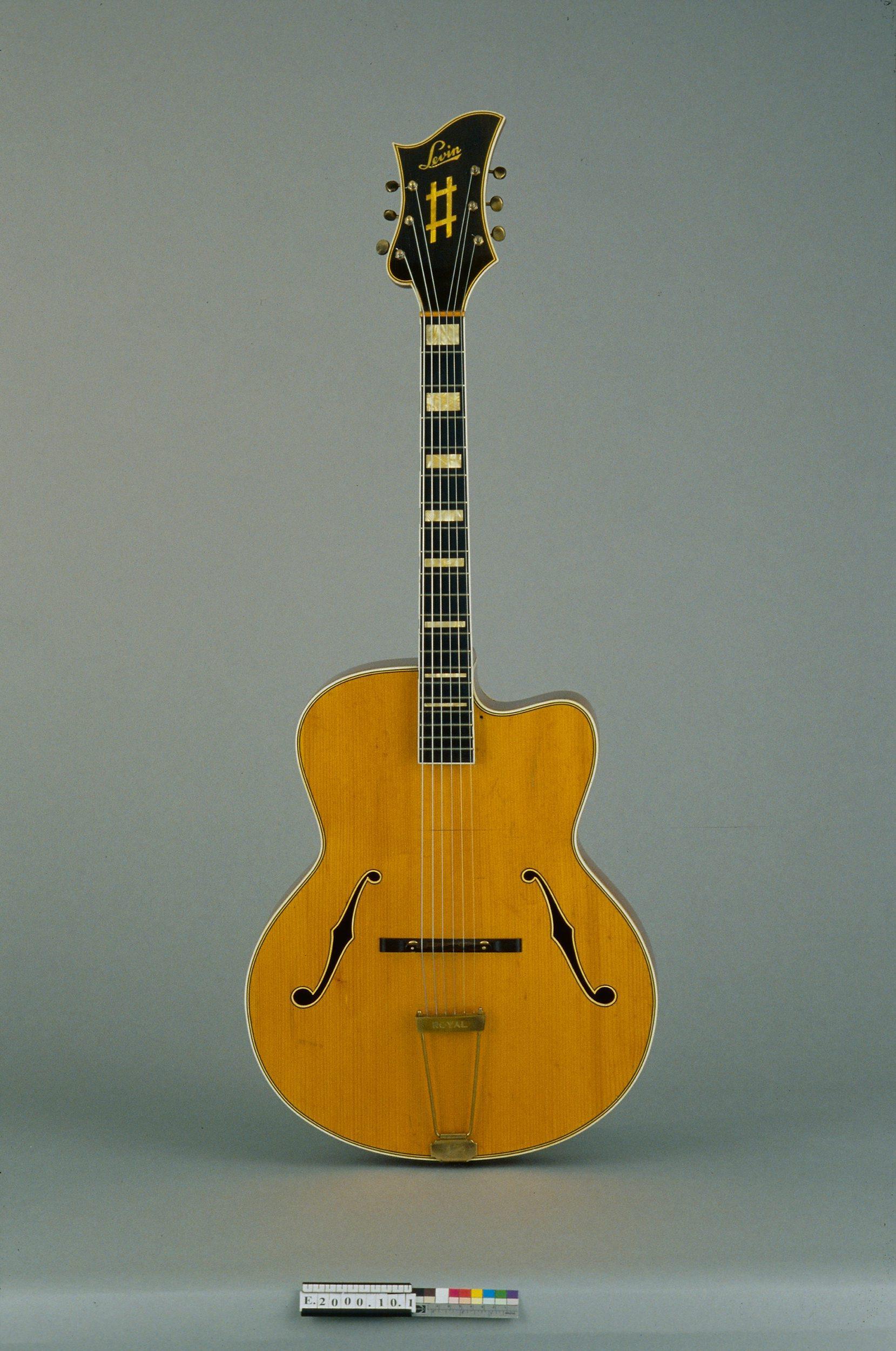 Guitare jazz   Levin, AB Herman Carlsson