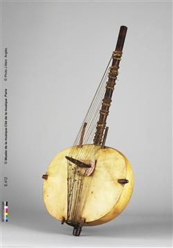 "Harpe-luth ""kasso"" (kora)   Anonyme"