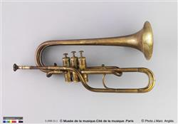 Cornet à pistons dit cornet système Sax | Adolphe Sax