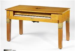 Piano carré modèle bureau   Maison Pleyel
