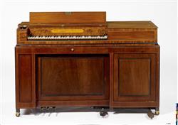 Piano carré organisé   Zumpe & Buntebart