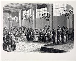 Concert chez Adolphe Sax avec Abd-el-Kader | Ecole française