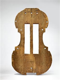 Moule de basse de viole   Antonio Stradivari