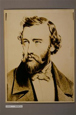 Portrait d'Adolphe Sax (1814-1894)   Ecole française
