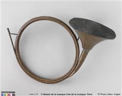 Trompe de chasse, modèle Dauphine | Famille Raoux