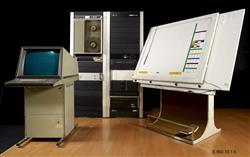Table à digitaliser UPIC (unité polyagogique informatique de CEMAMu)   Iannis Xénakis
