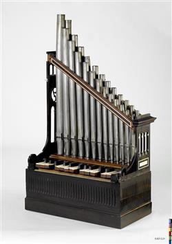 Reconstitution d'un orgue portatif   Auguste Tolbecque