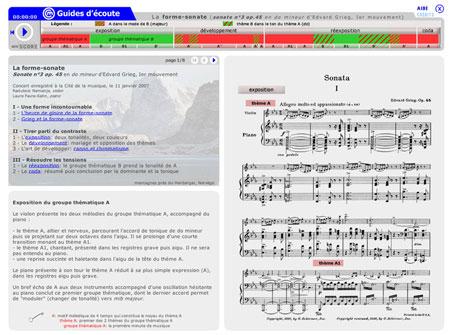Premier mouvement de la Sonate no 3 op. 45 d' Edvard Grieg | Edvard Grieg
