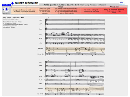 Alma grande et nobil core K. 578, de Wolfgang Amadeus Mozart | Wolfgang Amadeus Mozart