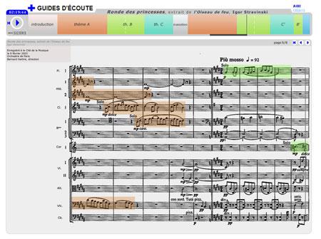Ronde des Princesses, extrait de l'Oiseau de feu, d'igor Stravinski   Igor Stravinski