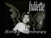 Cité-chanson. Juliette : rimes féminines |