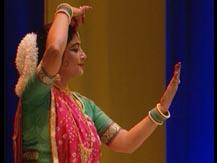 L'Inde du Nord. Récital de danse kathak |