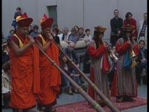 La vie, la mort. Himalaya, sonneries de trompes (royaume du Bhoutan) |