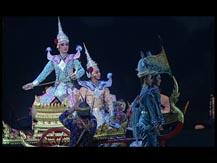 Le temps de la danse. L'épopée du Ramayana II. Le théâtre masqué Khon (Thaïlande) : l'enlèvement de Sita et le combat royal | Troupe du Département des beaux-arts du ministère de la culture thaïlandais