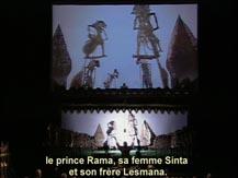 Le temps du récit I. Concert éducatif. L'épopée du Ramayana : Wayang Kulit de Java, Indonésie | Gilles Delebarre