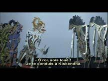 Le temps du récit I. L'épopée du Ramayana : l'enlèvement de Sita : théâtre d'ombres wayang kulit (Indonésie) | Gilles Delebarre