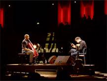 "Jazz à la Villette. Misja Fitzgerald Michel & Olivier Koundouno "" A Portrait of Nick Drake"" | Misja Fitzgerald Michel"