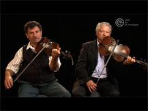 Stefan Iambor (István) et Francisc Mezei (Csángálo), musiciens tsiganes de Transylvanie : entretien | Stefan Iambor