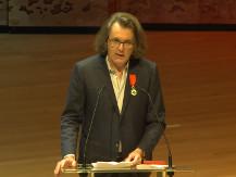 Cérémonie de remise des insignes de Chevalier dans l'ordre national de la Légion d'Honneur à Pascal Dusapin | Pascal Dusapin