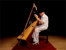 "Un musée qui s'écoute : harpe diatonique ""arpa llanera"" | Gabriel Zurini"