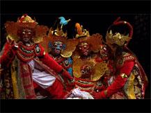 Wayang Wong, le Ramayana balinais : l'enlèvement de Sita | Jacques, Brunet