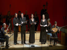 Madrigaux guerriers. Paul Agnew, Les Arts Florissants |