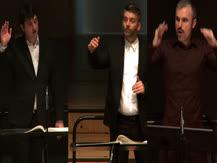 Gruppen, pour trois orchestres   Matthias Pintscher