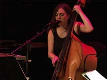Week-end Jazz en VF : Sarah Murcia - Eyeballing | Sarah Murcia