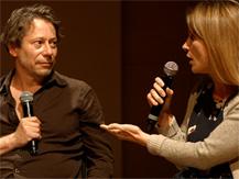 Rencontre avec Mathieu Amalric et Clémentine Deroudille dans le cadre de l'exposition Barbara |