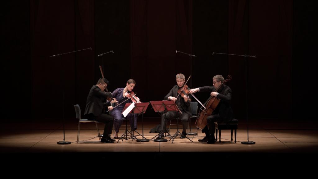 Livre de Boulez, quatuor Diotima à la Philharmonie de Paris, avril 2018