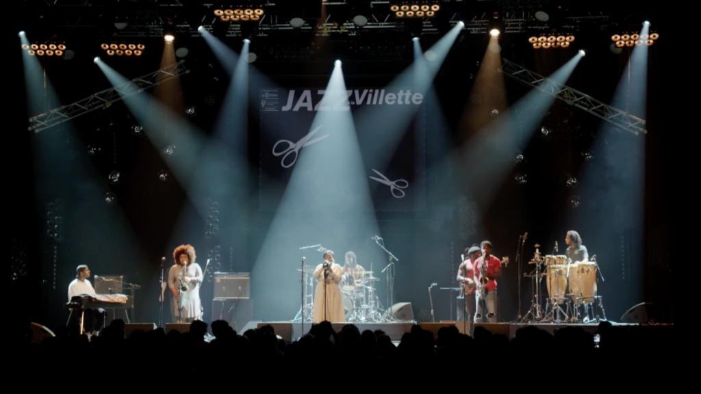 Kokoroko au festival Jazz à la Villette