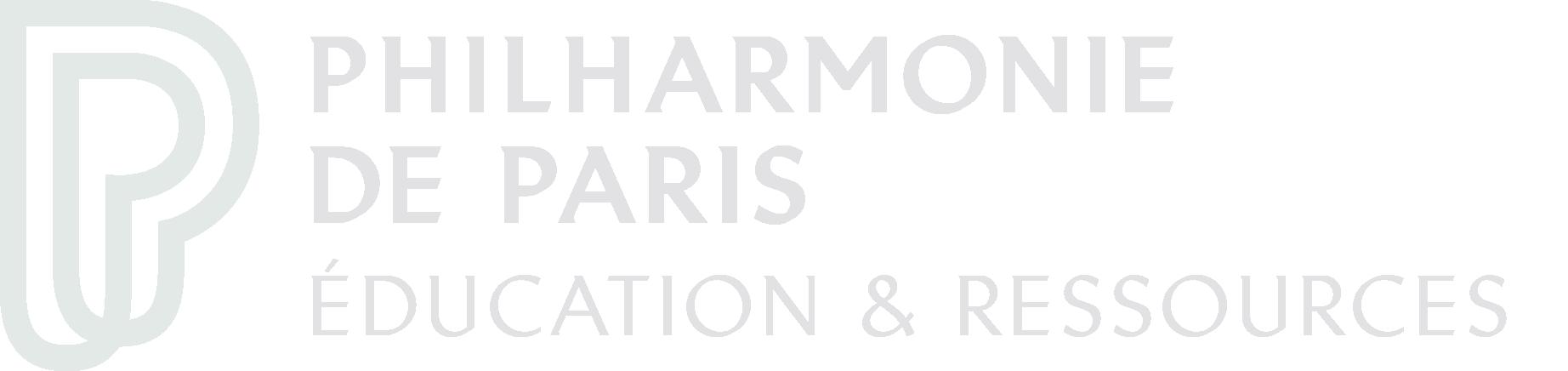 logo Philharmonie Éducation et ressources