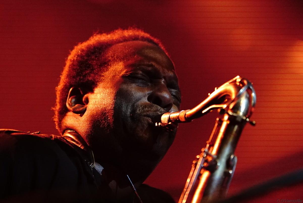 les portraits des principaux interprètes et l'histoire du Jazz par les instruments de musique