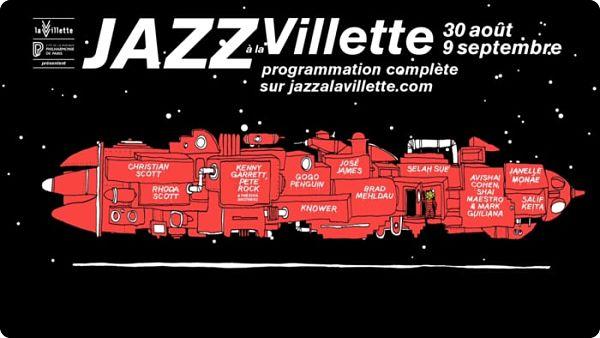 affiche Jazz à la Villette-2018